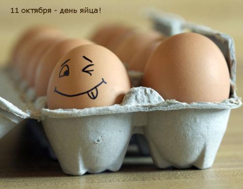 Сегодня семирный день яйца!