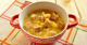 Готовим гороховый суп с курицей и сухариками