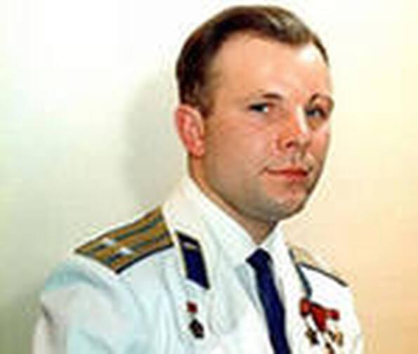 Это Юрий Алексеевич Гагарин