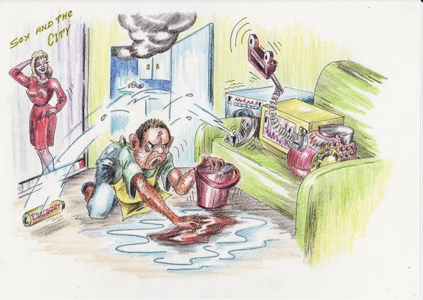 Картинка папа на хозяйстве