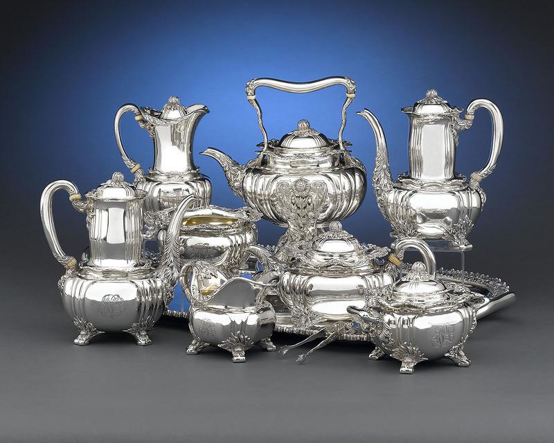 картинки серебряной посуды начищенная бляшка