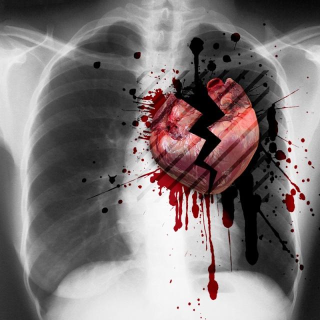 сочетается картинки с израненным сердцем черный