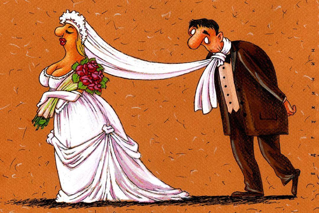 Поздравления с днем свадьбы смешные с предметами